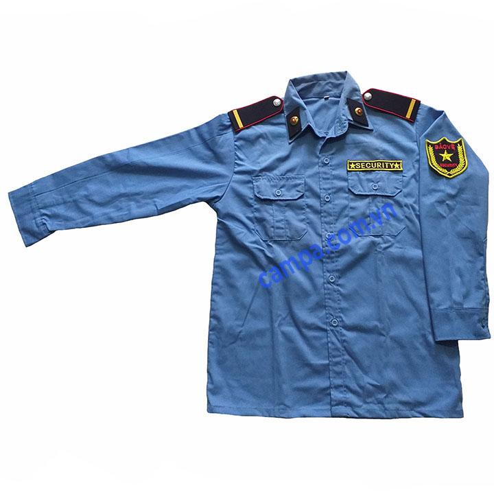 Áo bảo vệ dài tay màu xanh