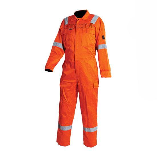 áo liền quần công nhân