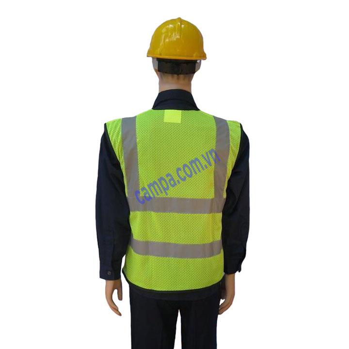 áo phản quang 2 sọc dứng
