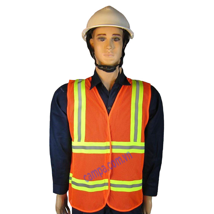 áo phản quang 3m mau cam