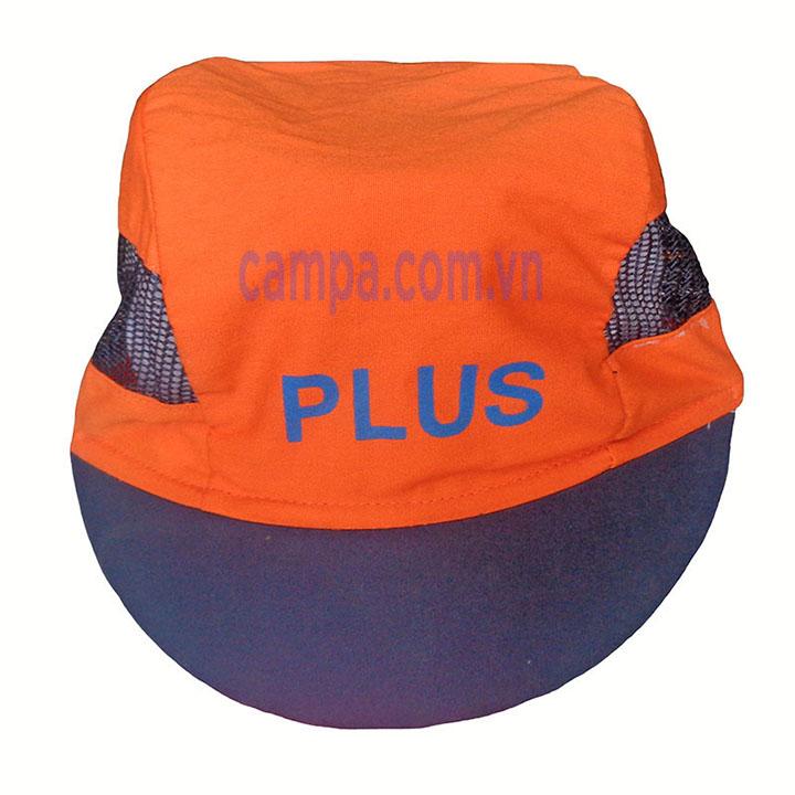 mũ lưới màu cam