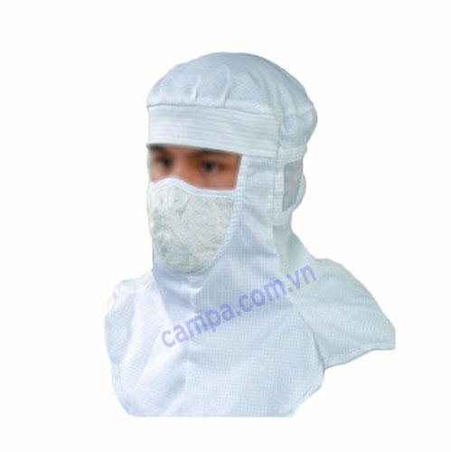 mũ phòng sạch chống tĩnh điện