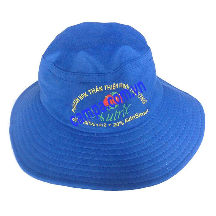 mũ vải công ty