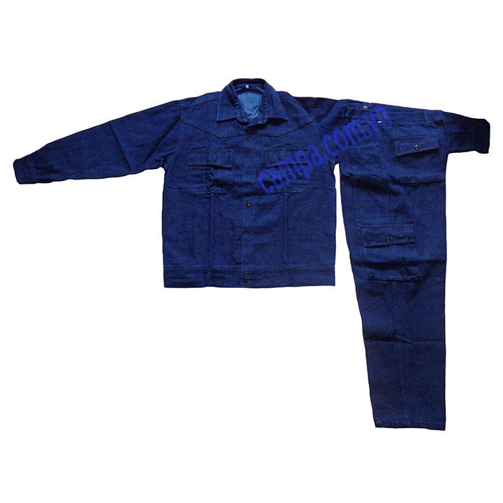quần áo jean bảo hộ