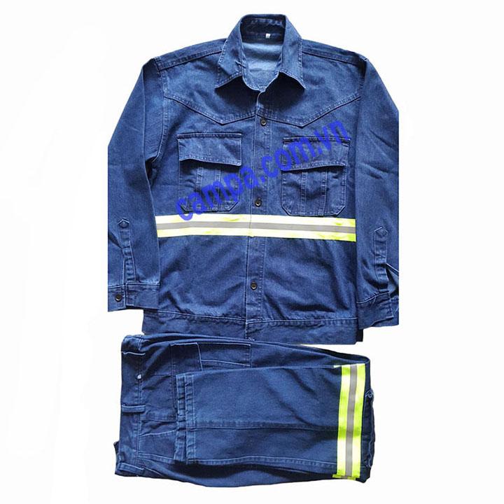 quần áo jean công nhân