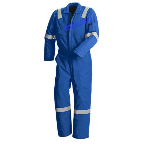 quần liền áo công nhân