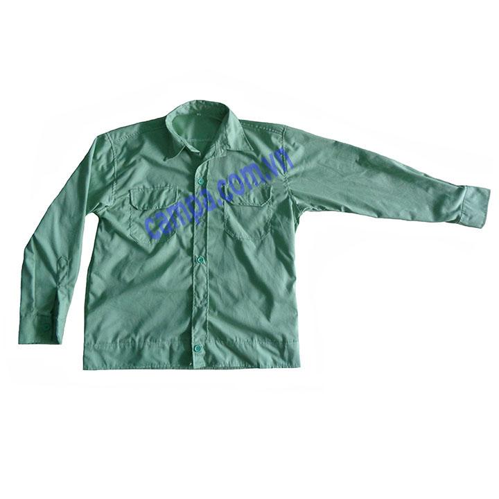 Áo Bảo Hộ Vải Kaki